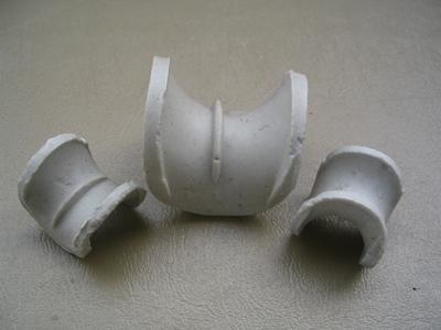 Ceramic berl saddle